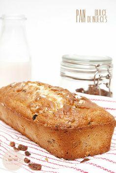 Receta de Pan dulce de nueces