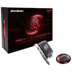 AVERMEDIA Live Gamer HD Captures 1080p@60 Gameplay with Built-in H.264 Hardware Encoder, TV Tuners and Video Capture, C985, Black - PromoCode - AVMCC985 $189.99