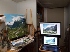 Ed Cabral Fine Art - Home Monitor, My Arts, Fine Art, Artwork, Work Of Art, Visual Arts