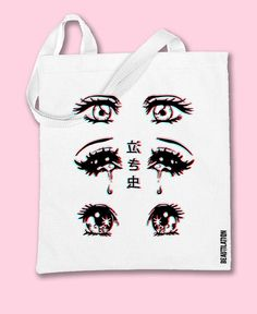 Anime Crybaby TOTE by Beautilation on Etsy, $17.00