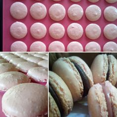 Macarons facili e veloci Macarons, New Cooking, Italian Cookies, Mini Desserts, Pavlova, Scones, Finger Foods, Cake Pops, Easter Eggs