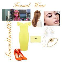 Honey Lemon Formal Wear by sweeettreat95 on Polyvore featuring polyvore fashion style Miss Selfridge Carolee Isaac Mizrahi Maybelline clothing Honey bh6 tadahoney