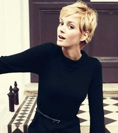 Chic Pixie Haircut