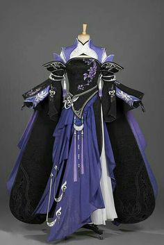 Cosplay Dress, Cosplay Outfits, Cosplay Costume, Hanfu, Old Fashion Dresses, Fashion Outfits, Pretty Outfits, Pretty Dresses, Mode Kimono