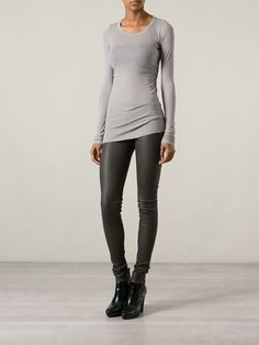 Rick Owens Fitted Top - Tootsies - Farfetch.com