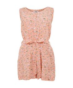 16d66da8c14 Transcend into spring style with this super cute floral print playsuit.  Perfect for daytime to