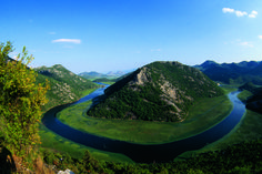 Located on the border between Montenegro and Albania sits the stunning Lake Skadar, the largest lake in the Balkan Peninsula. As an important wintering ground for migratory birds, more than 280 species have been spotted here.