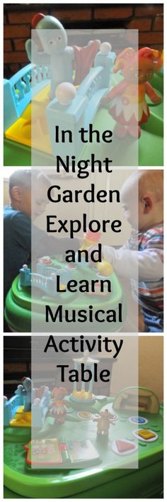 In the Night Garden Explore and Learn Musical Activity Table | www.parenthoodhighsandlows.com