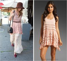 Taylor Swift Style Taylor Swift Style, Free People Dress, Lace Skirt, Style Me, Celebrity Style, White Dress, Beverly Hills, How To Wear, Fashion Tips