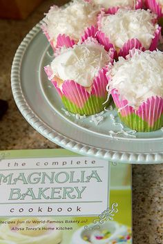 Lemon Coconut Cupcakes - Cupcake Daily Blog - Best Cupcake Recipes .. one happy bite at a time!