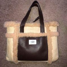 UGG Australia tote purse. UGG Australia Sundance Grab Bag Tote. Feels just like the boots! Sheepskin, suede and leather. UGG Bags Mini Bags
