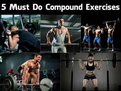 5 Must Do Compound Exercises   GYM FLOW 100