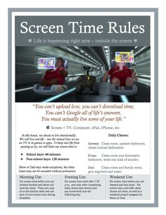 Indispensable Kid Rules Every Parent Should Follow Our own family screen time rules.