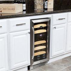 28 Bottle Dual Zone Built-In Wine Refrigerator