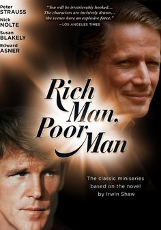Rent Rich Man, Poor Man starring Peter Strauss and Nick Nolte on DVD and Blu-ray. Get unlimited DVD Movies & TV Shows delivered to your door with no late fees, ever. Ally Mcbeal, Little Britain, Classic Tv, Classic Films, Classic Series, Man Movies, Good Movies, Famous Movies, Rich Man Poor Man