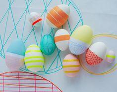 Express Deko für Ostereier -  Ostereier gestalten & dekorieren 13 Easter. Eggs. Пасха. Яйца.
