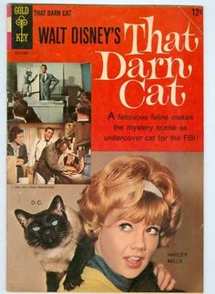 That Darn Cat 1965 VG Hayley Mills photo cover on eBay!