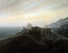 View of the Baltic by Caspar David Friedrich