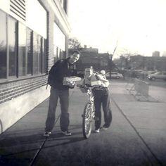 """Andy and Sam"" Minneapolis, MN - 2010   * Black and White *  Holga Film Camera *  Deb Carneol Original"