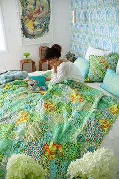 Hawthorne Threads- Love this look for our bedroom. :)