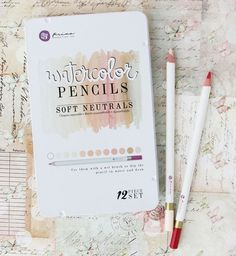 Prima's NEW Watercolor Pencil Sets: Scenic Route 576691, Soft Neutrals 576707, The Basics 576714, Spring & Fall 576721, Earth Tones 576738 Julie Nutting Set: Hair & Skin Tones 576745