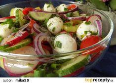 Caprese Salad, Mozzarella, Potato Salad, Salads, Food And Drink, Eggs, Potatoes, Breakfast, Ethnic Recipes