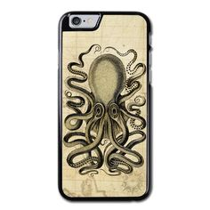 Steampunk Octopus Phonecase For iPhone 6/6S Case Brand new.Lightweight, weigh approximately 15g.Made from hard plastic, also available for rubber materials.The case only covers the back and corners of your phone.This case is a one-piece case that covers the back and sides of the phone. There is no front for the case.This is a non-peeling nor a non-fading print. Meaning, over time it will continue to look just as amazing as it did when you first received it.