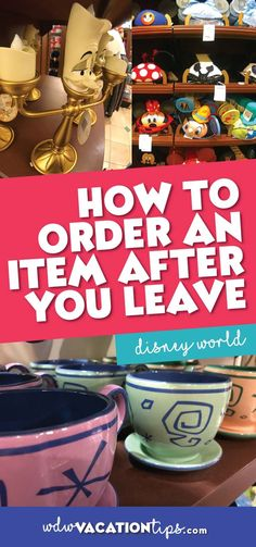 There certainly have been times where I wished I had bought something or been times when I was unable to pick up what I wanted because it was sold out in the parks here is how to order an item after you leave Disney World.