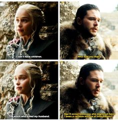 "3,681 Likes, 55 Comments - shoutout,promo (@imadirewolf) on Instagram: ""Another reference to Daenerys not being able to have children...we fucking get it D&D #jonerys baby…"""