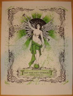 Toad the Wet Sprocket Band Poster