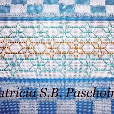 Patricia S. Swedish Embroidery, Blackwork Embroidery, Hand Embroidery Stitches, Bead Loom Patterns, Stitch Patterns, Huck Towels, Swedish Weaving Patterns, Bargello Needlepoint, Monks Cloth