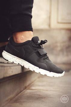 Nike SB Trainerendor - Black (by Animal Tracks) – Sweetsoles – Sneakers, kicks and trainers. On feet.