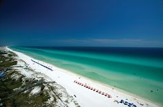 These sugar-white sands on the Gulf of Mexico occupy some of the prettiest real estate in the country. You'll be enchanted by the 16 quaint beachfront neighborhoods (including Seaside and Alys Beach), and 26 miles of waterfront along Highway Don't mi Best Beach In Florida, Florida Travel, Florida Beaches, Florida Sunshine, Tropical Beaches, Florida Vacation, Grayton Beach State Park, North Carolina Beaches, Miramar Beach