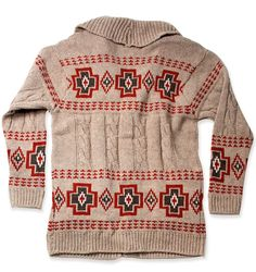 Pendleton Portland Collection Harding Cardigan. Classic design and classic cardigan.