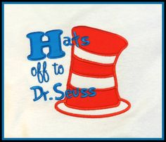 INSTANT DOWNLOAD Dr Seuss Cat In The Hat by KatelynsDesign on Etsy, $3.00