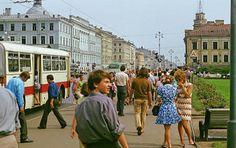 Leningrad, Soviet Union, 1972