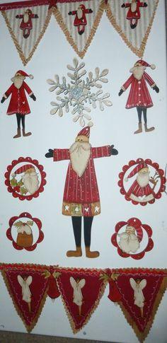 theodoracleave.com Barb Smith Christmas Decoration & button designs Christmas Decorations, Christmas Tree, Christmas Stuff, Holiday Decor, Tree Skirts, Advent Calendar, Cards, Button, Design