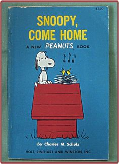 Book Peanuts Charles Schulz 1968 9th Printing Snoopy Come Home  $12  From Cobayley Vintage on Ruby Lane    http://www.rubylane.com/item/506482-100-6218/Book-Peanuts-Charles-Schulz-1968