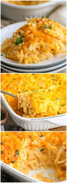 The Best Hashbrown Recipes are more than just breakfast favorites with amazing flavors. Find in this list, delicious recipes for any time of day! Side Dish Recipes, Great Recipes, Dinner Recipes, Favorite Recipes, Side Dishes, Yummy Recipes, Dinner Ideas, Healthy Recipes, Chicken