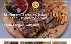 Rezekne Meat Factory is the largest meat product manufacturer in Latvia. Our aim was to create a website that is capable of guiding through the company in a modern way.