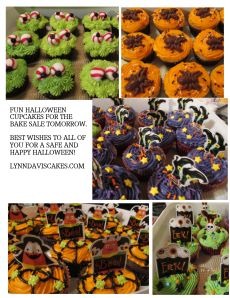 Some fun treats ready for your next bake sale.  Here are a few from our bake sale last year to give you some ideas. LynnDavisCakes.com
