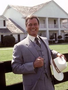 "Larry Hagman as J.R. Ewing              11/23/2012: Actor of TV and film, Larry Hagman, died from complications due to throat cancer. Hagman was best known for his roles as J.R. Ewing on the hit TV Show ""Dallas"" and Tony Nelson on ""I Dream of Jeanie"". He was 81."