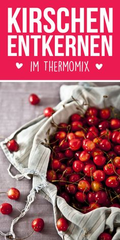 Cherries are coreed in Thermomix - perfect for jam, syrup or cherry-blossom. Mayonnaise, Ketchup, Chutney, Olives, Easy Healthy Recipes, Easy Meals, Salsa, Sauce Barbecue, Calories