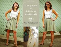 1 dress / 2 ways!  www.essentialsandfrosting.com