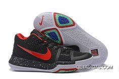 52ba013feea4 Nike Kyrie 3 Fire Red Black White Green TopDeals