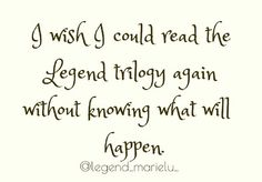 Why?? To endure the pain all over again??!! I really do love the books though they are amazing