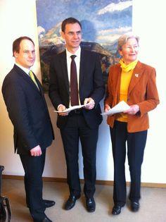 LH Markus Wallner: Unterstützung für die Unterlassungsklage gegen das radioaktive Gefährdungspotential durch das Schweizer Kernkraftwerk Mühleberg.