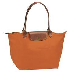 Longchamp  Le Pliage Tote bag  Reference: 1899089  Orange  $145.00
