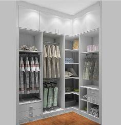 Walk in wardrobe ideas . Walk in wardrobe ideas Shoe Storage Wardrobe, Wardrobe Organisation, Walk In Wardrobe, Closet Storage, Bedroom Storage, Wardrobe Ideas, Corner Storage, Corner Shelf, Bedroom Organization