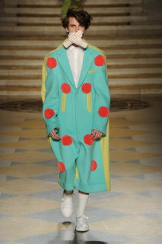 London College of Fashion MA16 Menswear Show: Jeuken Cho